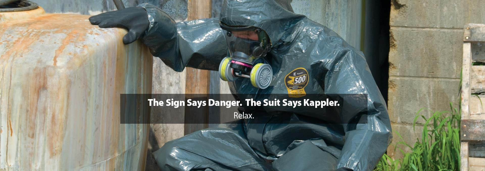 The Sign Says Danger. The Suit Says Kappler. Relax