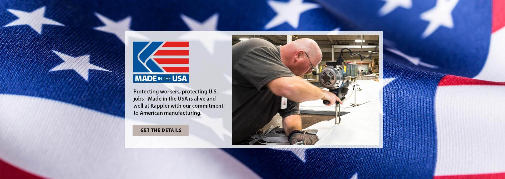 Kappler Products are Proudly Made in the USA
