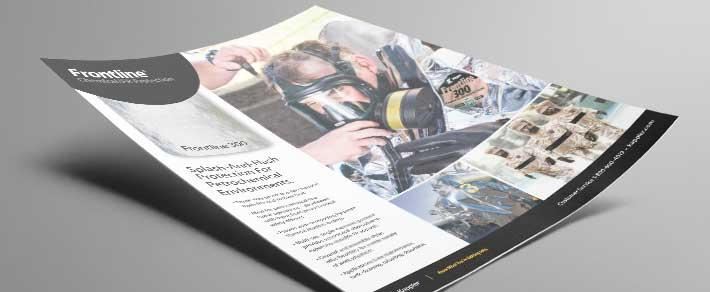 Download a pdf of the Kappler Frontline 300 informational flyer