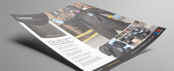Download a pdf of the Kappler Lantex 100 informational flyer